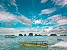 PHUKET. Take a boat ride to the enchanting PHANG NGA BAY and its most famous landmark, James Bond Island!