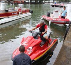 Teva i Uta : Un nouveau bateau et un nouveau scooter des mers pour les pompiers
