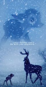 Your mother can't be with you anymore (not here, not  now, but later when you can be closer than ever before.)