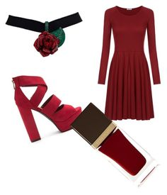 """""""Red Classic"""" by livadams206 on Polyvore featuring Tom Ford"""