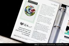 I love this magazine-style approach that Jess took with her Week in the Life album. Would be cool for a December album or mission tour album Project Life 6x8, Project Life Freebies, Project Life Scrapbook, Project Life Layouts, Project Life Cards, Scrapbook Journal, Smash Book Planner, Life Journal, Pocket Scrapbooking