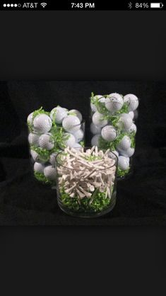 Golf Centerpieces