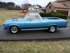 1967  Chevrolet El Camino  runs 11.920 @ 112.100 http://www.dragtimes.com/Chevrolet-El-Camino-Timeslip-8940.html