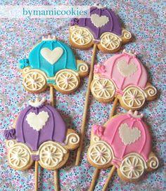 Galletas de carruaje - carriage cookies Love