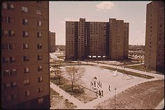 Stateway Gardens, Chicago, IL  1970's Documerica