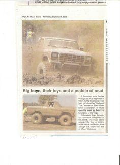 Dillon Tribune covering the CFWDA Mud Bog 2012.