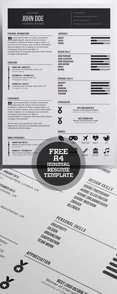 413 Free Resume Templates in Word download, customize, print - make free resume