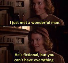 [The purple rose of Cairo]