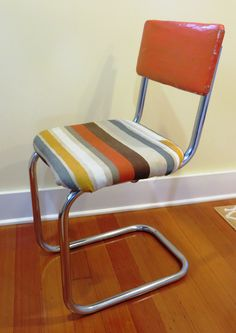The chair before rev