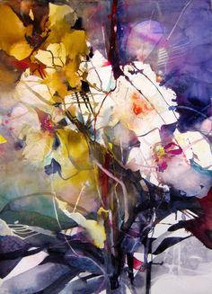 Elke Memmler WATERCOLOR #watercolor jd