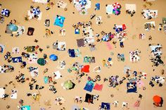 Vincent Laforet, Coney Island Beach Series, Print #8, 2006