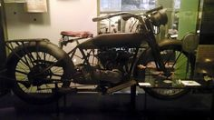 WWI World War I was the first time that motorcycles were used in combat service on a large scale. Harley Davidson provided around 15,000 for military use during the War.