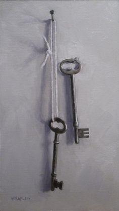 Two Antique Keys - Michael Naples