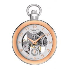 Tissot Pocket Mechanical Skeleton Watch T853.405.29.412.01 Citywest Jewellers Stainless Steel Case, Pocket Watch, Unique Gifts, Bronze, Sporty, Jewels, Unisex, Watches, Crystals