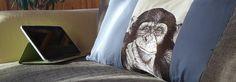 Фотостежок на подушке