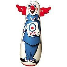 The Original Bozo Bop Bag. Bozo the Bop Bag clown stands at a whopping 46 inches. Take your frustrations out on Bozo, he'll keep bouncing back! Size: 46 Inches tall when inflated. Vintage Toys 1960s, Retro Toys, Vintage Stuff, 1970s Toys, Vintage Games, Vintage Clown, Vintage Candy, Retro Vintage, Childhood Toys