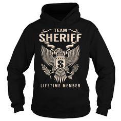 Team SHERIFF Lifetime Member - Last Name, Surname T-Shirt