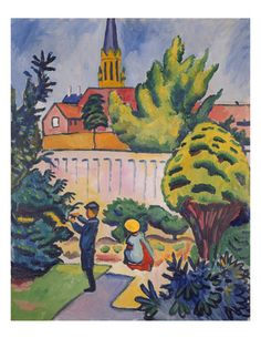 Auguste Macke Poster at AllPosters.com