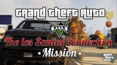 GTAV Online Missions PS4 (The Los Santos Connection) #4