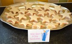 Disney Princess Party Food Wish Upon A Star Sandwiches