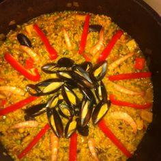 Seafood Paella!