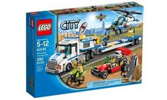 Track them down, arrest the crooks and recover the valuables before it's too late. #LEGO #playsets #toys