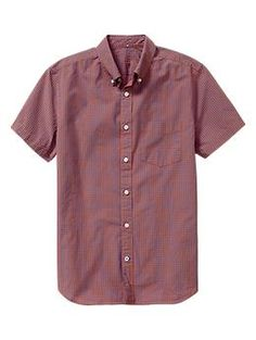 Lived-in Wash Gingham Shirt from Gap