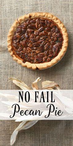 No Fail Easy Pecan Pie Recipe - Mini Pies - Pecan Recipes Mini Pie Recipes, Pecan Recipes, Best Dessert Recipes, Sweet Recipes, Cooking Recipes, Yummy Recipes, Best Pecan Pie, Pecan Pie Bars, Puddings