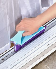 Use the Window and Crevice Cleaning Tool or Refill Sets to clean windows, sliding door tracks and more. The tool reaches into crevices and corners that regular scAwesome Cleaning tips hacks are offered on our website. Read more and you wont be sorry you d Deep Cleaning Tips, House Cleaning Tips, Cleaning Solutions, Spring Cleaning, Cleaning Hacks, Diy Hacks, Hardwood Floor Cleaner, Homemade Toilet Cleaner, Clean Baking Pans