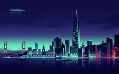 Amazing City Lights Illustrations-6