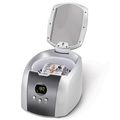 The Best Ultrasonic Jewelry Cleaner - Hammacher Schlemmer gift idea for girlfriends who have everything