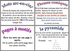 French Daily 5: work on words ideas Source: Classe de madame Bernice: 5 au quotidien