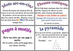 Classe de madame Bernice: Plein de belles idées sur ce site!