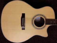 Tribe AC-01C, acoustic cutaway. If you are looking for a professional acoustic guitar this is the one. On special!