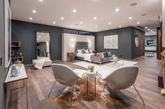 16033 Valley Vista Blvd, Encino, CA 91436 featured on modciti Homemade Home Decor, Fancy Houses, Modern Houses, Modern Home Interior Design, Luxury Homes Dream Houses, Minimalist Home, Luxury Living, Luxury Real Estate, Architecture