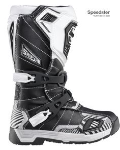 Speedster Youth/Kids MX Boot by Chris Davis at Coroflot.com