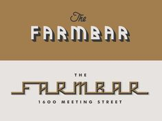 The Farmbar pt. III by J Fletcher Design