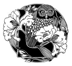 @Libby Burrell ...L with an owl!