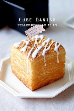 Danish bread cubes