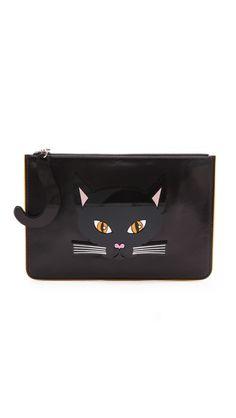 Witch Bag Yazbukey Black Cat Clutch