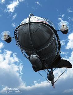 Steampunk Airship, Dieselpunk, Steampunk Fashion, Air Machine, Cabin Doors, 3d Printing Diy, Weird Art, Submarines, Zeppelin