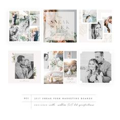 12 Marvelous Wedding Album For Photos Wedding Albums Pictures Wedding Album Layout, Wedding Collage, Wedding Album Design, Wedding Photo Books, Wedding Photo Albums, Wedding Book, Page Layout Design, Book Design, Web Design