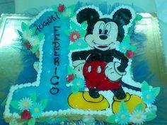 Festeggiare il primo #compleanno con #topolino. Idea della pasticceria La Mimosa di Tollo  http://www.simocakedesigner.it