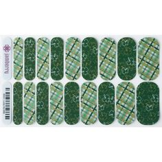 Lucky Me- These St. Patrick's Day wraps are bound to bring you luck! Get these cuties at kerikellyjams.jamberry.com  #KeriKellyJams #Jamberry #StPatricksDayJams