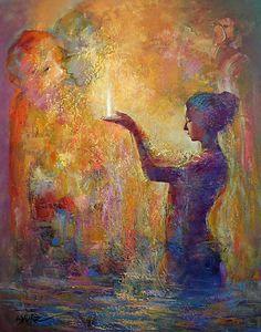 """""""Being is the means of reaching non-being."""" —Rumi (Artist: José Espurz González) ..*"""