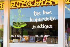 The Lime Leopardette Boutique!