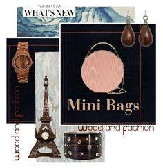 """Mini Bags 3"" by forgottenmelody on Polyvore featuring Blue Area, Ballard Designs, Eddie Borgo, Earth and Federica Rettore"