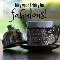 Beautiful and Happy Friday to You