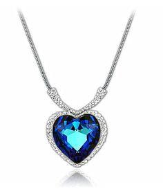 Titanic Necklace - Dark Blue