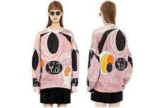 Sweatshirt fra Acne med Hilma af Klint-print